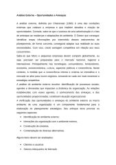 Aula 07 - Texto - Análise Externa - Oportunidades e Ameaças.doc