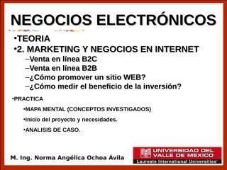2. MARKETING Y NEGOCIOS EN INTERNET parte 2.ppt