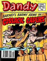 Dandy Comic Library 202 - Barneys Barmy Army in Cossack Capers (TGMG).cbz