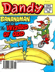 Dandy Comic Library 201 - Bananaman - The Wizard of Odd (TGMG).cbz