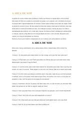 A ARCA DE noé.doc