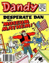 Dandy Comic Library 195 - Desperate Dan in Museum Mayhem (TGMG).cbz