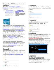 Mengaktifkan Net FrameWork.doc