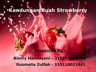 kandungan buah strawberry.pptx