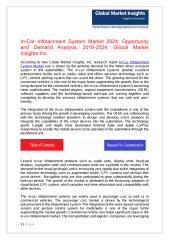 In-Car Infotainment System Market.pdf