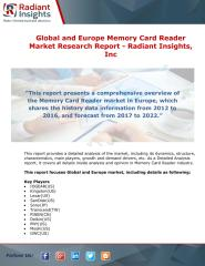 Global and Europe Memory Card Reader Market Research Report - Radiant Insights.pdf