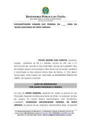 FELIPA AQUINO DOS SANTOS - Indenização dnaos morais e materiais[1].doc