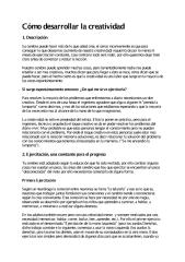 Cómo desarrollar la creatividad.pdf