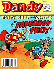 Dandy Comic Library 194 - Bully Beef and Chips in Paperboy Pest (TGMG).cbz