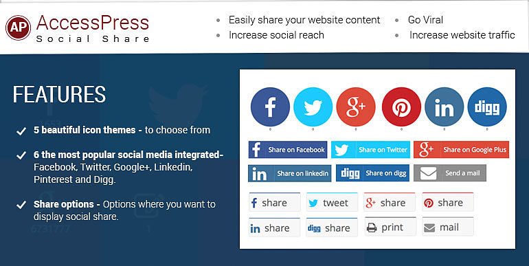 accesspress-social-share-Button