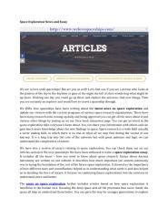 essay on space exploration.pdf