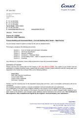Grinaker Civil Engineering Process Civil Tender Document.doc
