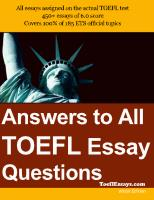 Sample Essays for the TOEFL Writing Test.pdf