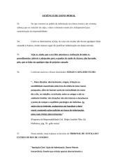 DANO MORAL, AUSENCIA E ABUSIVIDADE.doc